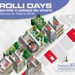 Mappa interattiva 3D dei Rolli Days Genova - aprile 2016