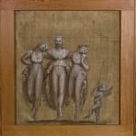 Danza delle Grazie con amorino tempera su tela, cm.60x65 Bassano del Grappa, Museo-Biblioteca-Archivio, inv. M13