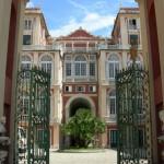 Facciata Giardino Palazzo Reale Genova