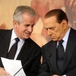 Claudio Scajola e Silvio Berlusconi