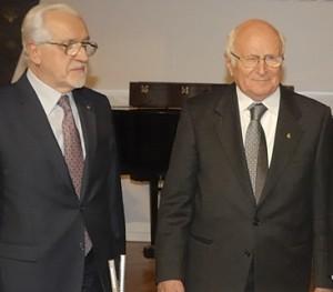 Aldo A.Mola e Antonio Binni