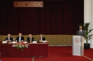 saluti istituzionali e tavolo dei relatori