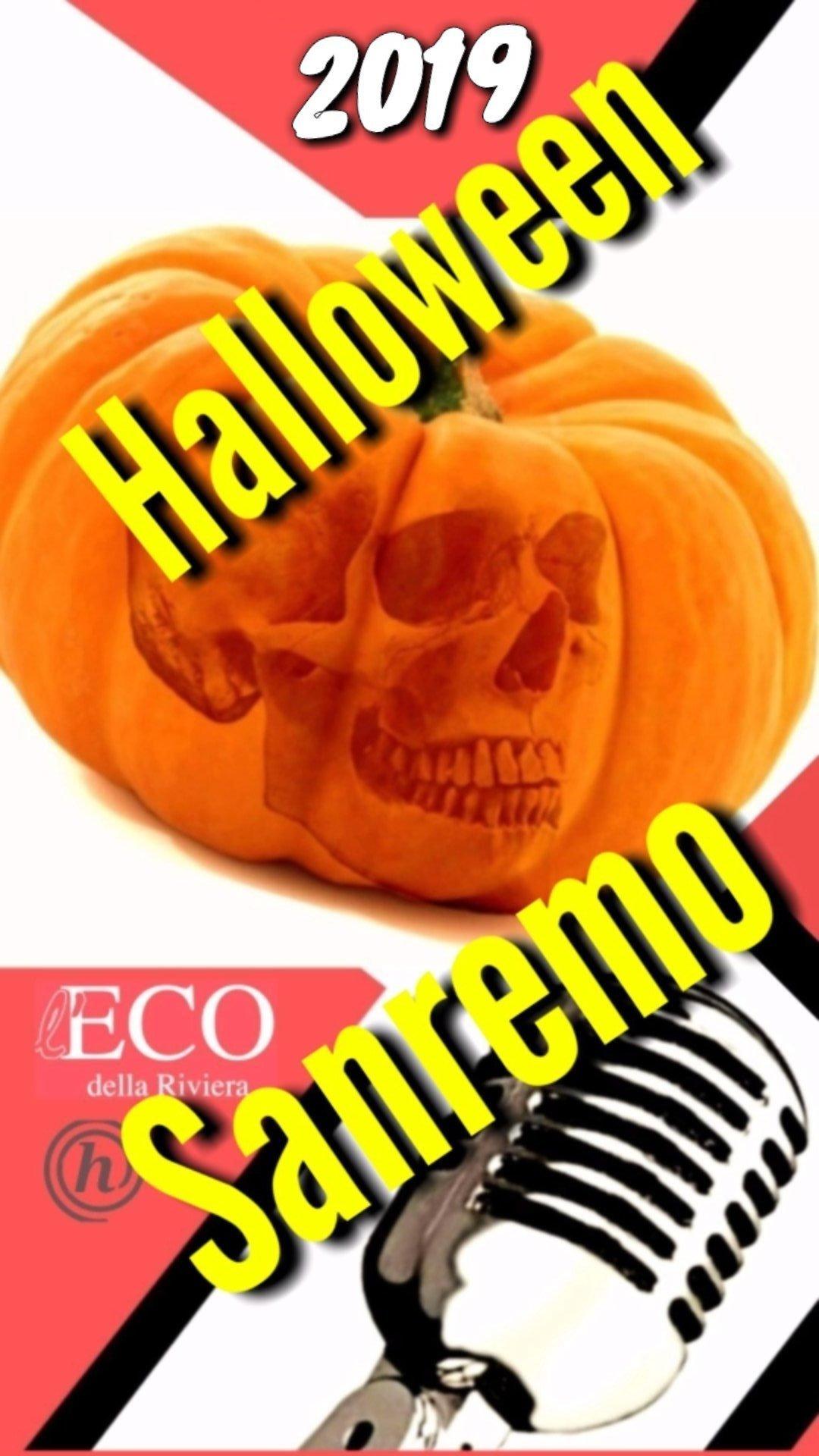 halloween sanremo , copertina